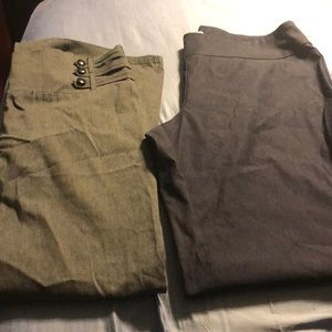 Pants - 2 pairs of dress pants